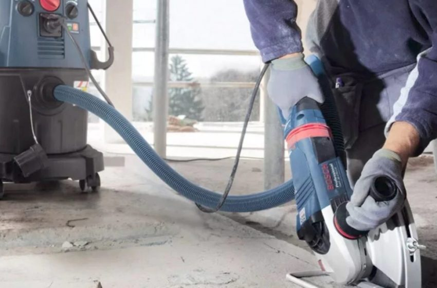 Why Dust Extractors are Essential for Concrete Works