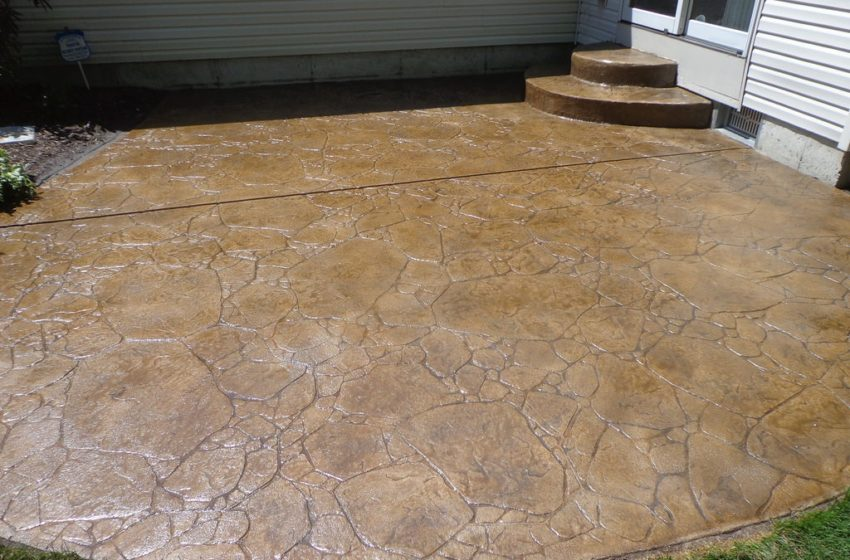 How to maintain decorative concrete?