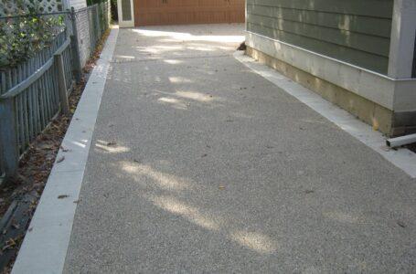 Chose the Concrete Driveways Townsville Instead of Asphalt Driveway