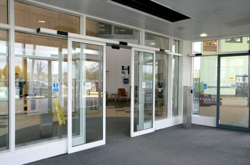 Why Install Automatic Doors In Commercial Buildings?