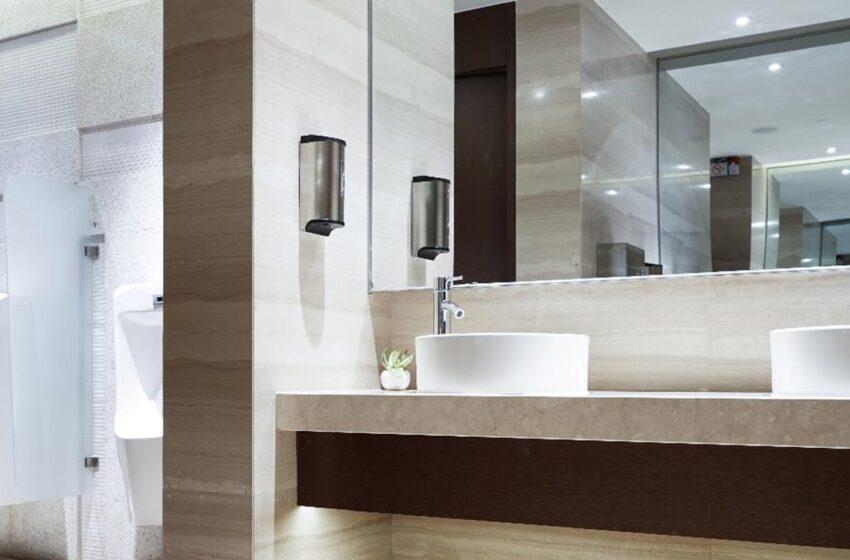 Types of washroom tiles
